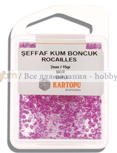 Бисер Kartopu rocailles 2mm / 15gr