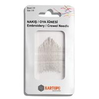 Иглы для вышивания гладью Kartopu
