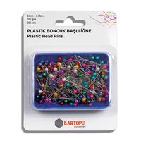 Булавки с пластиковыми головками для шитья