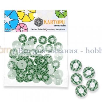 Kartopu Fancy buttons пуговицы 10 мм