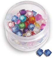 Бусина-кубик пластик
